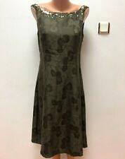 EMPIRE JACQUARD by NOA NOA Gr.M 100%SEIDE Kleid Bestickt Wadenlang Midi geblümt