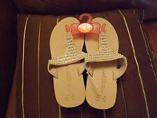 Ladies size 3/4 brand new unworntoe post pearl and diamonte design