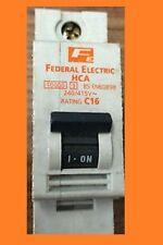 FEDERAL ELECTRIC HCA SINGLE POLE MCB C16 TYPE C