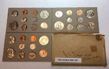 1954 U.S. Toned Double Mint Set.