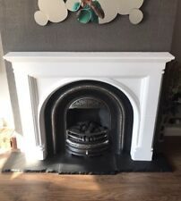 Plaster Fire Surround. Fireplace. Gothic Arch Design. £130. Delivery available