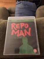 Repo Man EUREKA Masters Of Cinema Blu-Ray with Booklet REGION B UK Import RARE