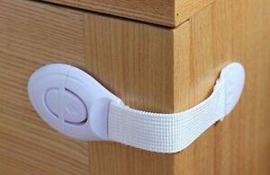 2 - 50 St. Schrankschloss Schranksicherung Kindersicherung Schubladensicherung