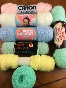 SUPER SPORT RED HEART YARNS pick from 2 color choices ~partial or full