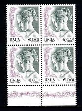 ITALIA REP. - 2002 - Donne nell'arte 0,01 € - Statua di Antonio Canova Yv.  2562