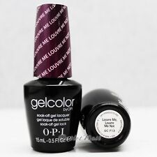 OPI GelColor GC F13 LOUVRE ME LOUVRE ME NOT 15mL UV LED Gel Polish Royal Purple