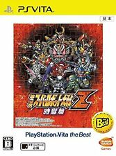 NEW PS VITA 3rd Super Robot Wars Z Zigokuhen the Best Japan Import PSV
