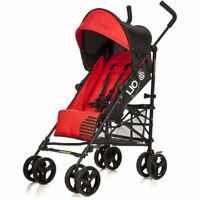 Vee Bee Lio Stroller/Pram for Baby/Infant/Toddler Recline/Foldable/Lock Red