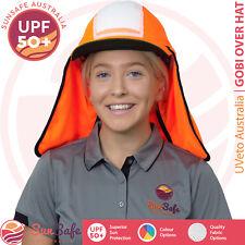 Gobi Over Hat UVeto Australia Hard Hat Cover Sun Protection Helmet Sun Brim Flap