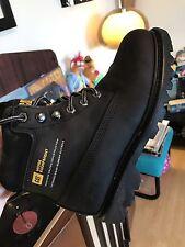 Caterpillar Boots Black Techni Flex Men Size 6 Great Condition