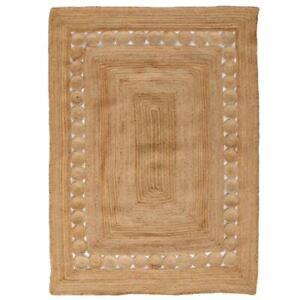 Rug Natural Braided jute handmade reversible rustic look runner rug outdoor rugs