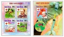 GB13709ab Guinea-BISSAU 2013 Malaria MNH SET **