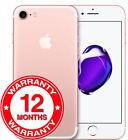 Apple Iphone 7 - 32gb 128gb 256gb - Unlocked Smartphone Good Condition Warranty