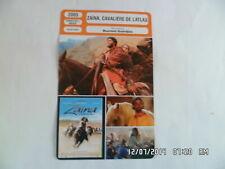 CARTE FICHE CINEMA 2005 ZAINA CAVALIERE DE L'ATLAS Aziza Nadir Sami Bouajila