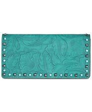 INC International Concepts Anna Sui Tooled & Studded Clutch Retail $89