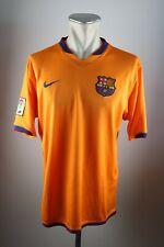 FC Barcelona Trikot Gr. L 2006-08 Nike Away jersey Spanien Shirt orange