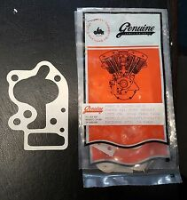 James Gaskets White Paper Outer Oil Pump Cover Gasket Harley Big Twin 1968-1980