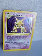 Alakazam Holo 1/102   Base Set Alakazam Holo Pokemon @