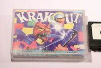 COMMODORE 64 (C64) 128 GAME -- KRAKOUT --  BY GREMLIN -- 1987