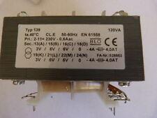 Transformateur universel 120 VA Typ 139 <EN61558