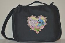 TRADING PIN BAG BOOK FOR DISNEY PINS STITCH AND ANGEL HEART KISSING CASE
