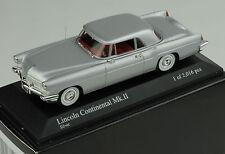 Lincoln Continental MK II Hartop Coupe 1956 silver Minichamps 1:43