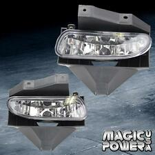 Front Driving Bumper Fog Lights Lamp Set Clear Len Pair Ford Mustang 1999-2004