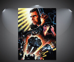 Blade Runner Harrison Ford Vintage Large Poster - A0, A1, A2, A3, A4 Sizes