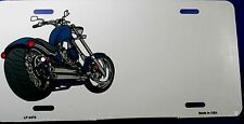 """Custom Novelty motorcycle license plate. New aluminum auto tag 6""""x12"""" LP-3476"""