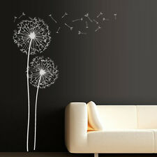 Wall Decal Dandelion Flower Nature Plants Botanic Grass Forest Bedroom M1342
