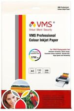 VMS A4 Professional Matte 130gsm Photo Paper 100 Sheets