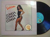 GRETCHEN conga conga conga SPANISH LP CARNABY 1981 LATIN DISCO*SEXY COVER*