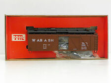 "TRAIN MINIATURE HO U/A ""WABASH"" 50 TON A.R. OUTSIDE BRACED BOXCAR #76061"
