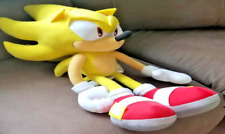 GE Sonic The Hedgehog  Super Sonic Plush, 20""