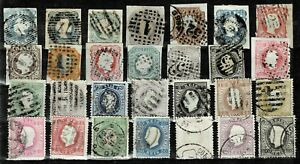 PORTUGAL Embossed Classics 28 diff of Scott #1-51 - Minor Faults Nice Appearing