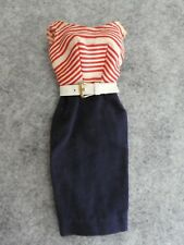 Early Vintage Barbie - 1959 Cruise Stripes #918 - VGC!!!