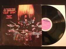 ED GRAHAM - Hot Stix - 1978 German Vinyl 12'' Lp./ Prog Jazz Rock Fusion