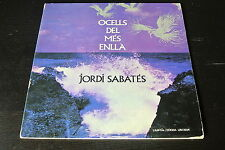 LP JORDI SABATES ocells del SPAIN rare 1975 VINYL GATEFOLD PROG JAZZ ROCK vinilo