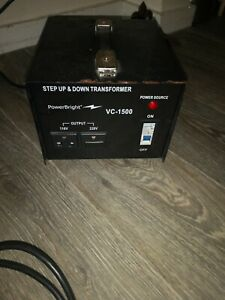 Step Up And Down 110v 240v Converter 1500w