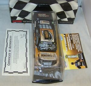 1:24 2011 ACTION #6 ANGUS BEEF IOWA RACED WIN RICKY STENHOUSE JR AUTOGRAPHED
