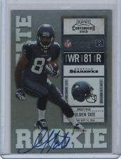 2010 Playoff Contenders Rookie Ticket Autograph Variation SP #216 Golden Tate RC