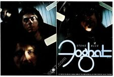 1978 Foghat photo Stone Blue album release music trade print ad