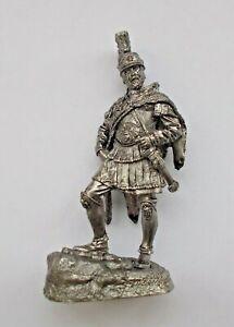 1/30 Hannibal Barca Carthage General Rome Enemies Tin Metal Soldier 75 mm NEW