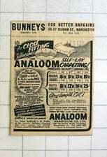 1957 Analoom Warehouse, Stockport Road Longsight Manchester
