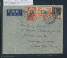 Thailand nice franking cover to Germany 1947