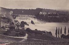 Chute du Rhin Allemagne Deutschland Vintage albumine ca 1870