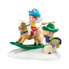 Department 56 North Pole Cowboy Kids Accessory New 4036552 2014 D56