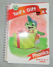 LEAP FROG LEAPPAD PHONICS Book 4 TAD's Gift REPLACEMENT BOOK ONLY