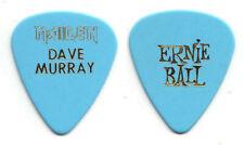 Iron Maiden Dave Murray Light Blue Guitar Pick - 2003-2004 Dance of Death Tour