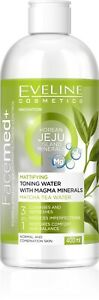 Eveline Facemed+ Matting Toning Water with Minerals of Magma Jeju 3in1 400ml